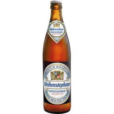 Cerveza artesanal Weihenstephaner Hefeweissbier Alkoholfrei