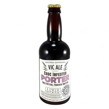 Cerveza artesanal Choc Infested Porter Vicbrewery