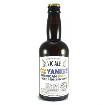 Cerveza artesanal Oz Yankee American Wheat Vicbrewery