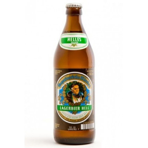 Cerveza artesanal Lagerbier Hell