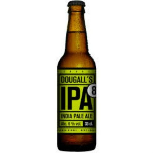 Cerveza artesanal IPA 8 DouGall's