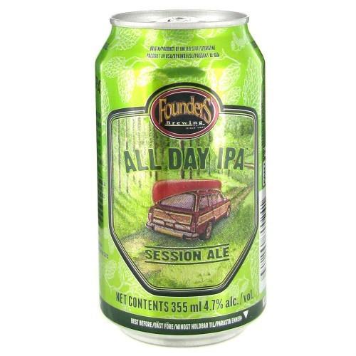 Cerveza artesanal All day IPA (lata) Founder's