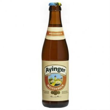 Cerveza artesanal Ayinger Weizenbock
