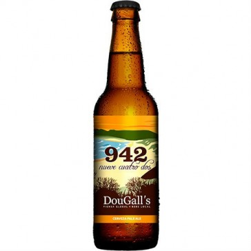 Cerveza artesanal 942 DouGall's