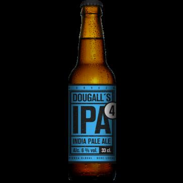 Cerveza artesanal IPA 4 DouGall's