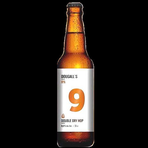 Cerveza artesanal IPA 9 DouGall's