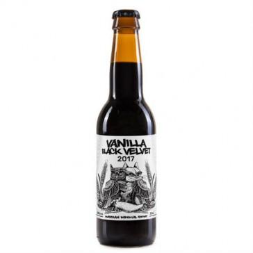 Cerveza artesanal Vanilla Black Velvet Guineu