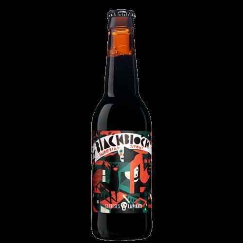 Cerveza artesanal Black Block Bourbon Aged La Pirata