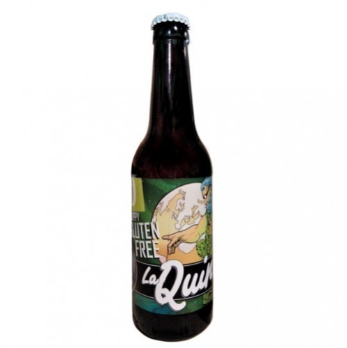 Cerveza artesanal God Save the Hoppy Gluten Free La Quince