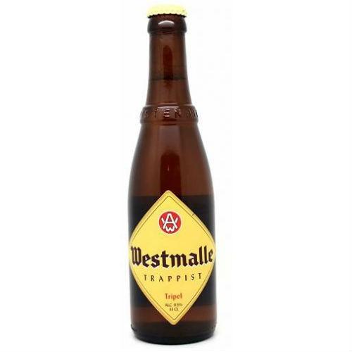 Cerveza artesanal Westmalle Trappist Tripel (33 cl)