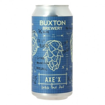 Cerveza artesanal Axe'x Buxton Brewery