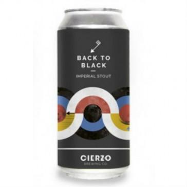 Cerveza artesanal Back to Black Cierzo Brewing