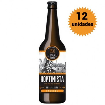 Cerveza artesanal Pack cerveza artesanal 12 Edge Hoptimista IPA