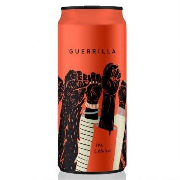 Cerveza artesanal Giant Guerrilla Crak Guerrilla