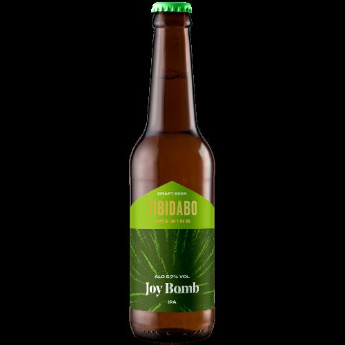 Cerveza artesanal Joy Bomb (botella) Tibidabo Brewing