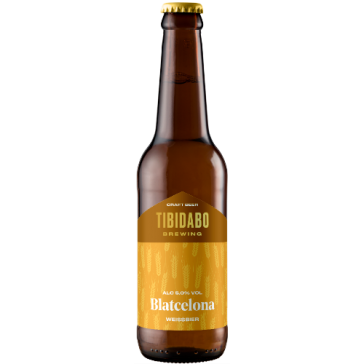 Cerveza artesanal Blatcelona (botella) Tibidabo Brewing