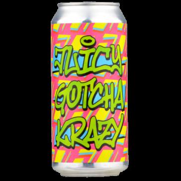 Cerveza artesanal Juicy Gotcha Krazy Dry & Bitter