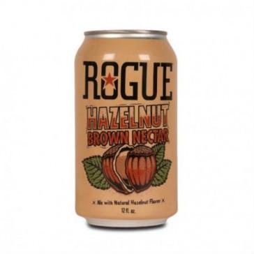 Cerveza artesanal Hazelnut Brown Nectar Rogue