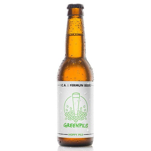 Cerveza artesanal Green Pils Fermun Beer
