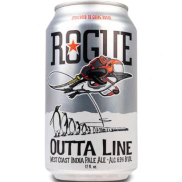 Cerveza artesanal Outta Line IPA Rogue