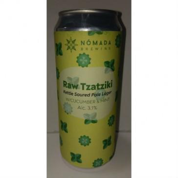 Cerveza artesanal Raw Tzatziki Nómada