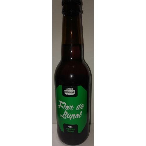 Cerveza artesanal Flor De Llúpol