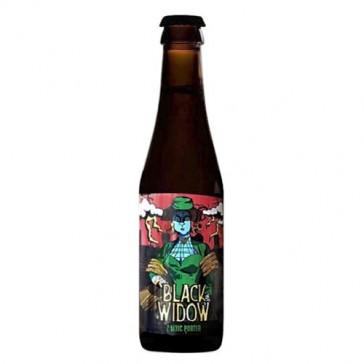 Cerveza artesanal Black Widow Laugar