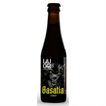 Cerveza artesanal Basatia Laugar