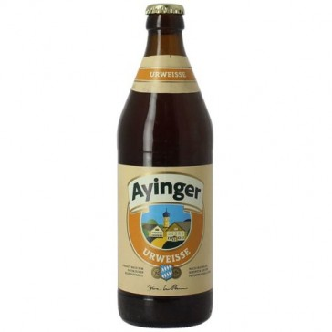 Cerveza artesanal Ayinger Urweisse