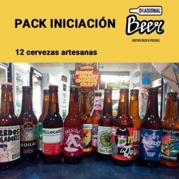 Cerveza artesanal Pack iniciación cerveza artesanal (12 ud)