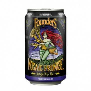 Cerveza artesanal Mosaic Promise Founder's