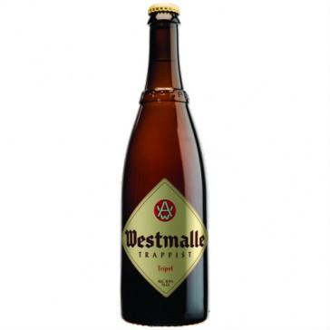 Cerveza artesanal Westmalle Trappist Tripel (75 cl)