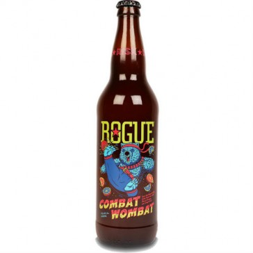Cerveza artesanal Combat Wombat Rogue