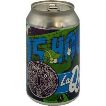 Cerveza artesanal 15 Hours - Session IPA Mosaic La Quince