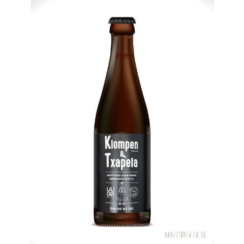 Cerveza artesanal Klompen & Txapela Laugar