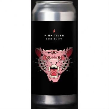 Cerveza artesanal Pink Tiger Garage Beer Co