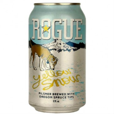 Cerveza artesanal Yellow Snow Pilsner Rogue