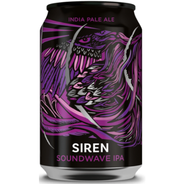 Cerveza artesanal Sound Wave IPA Siren Craft Brew