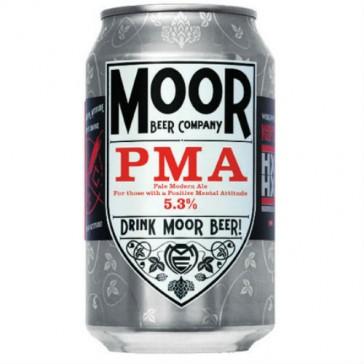Cerveza artesanal PMA (Positive Mental Attitude) Moor