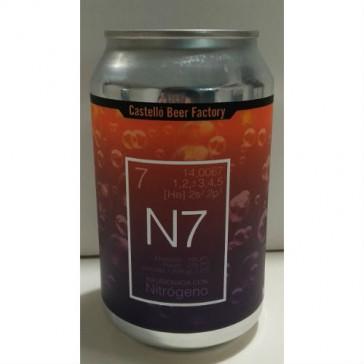 Cerveza artesanal N7 Nitro Castelló Beer Factory