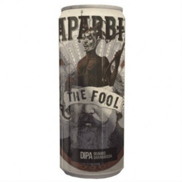 Cerveza artesanal The Fool Naparbier