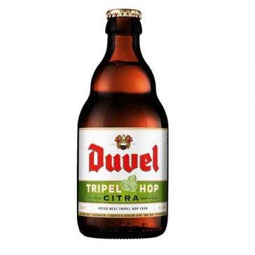 Cerveza artesanal Duvel Tripel Hop Citra